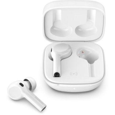 image Belkin Écouteurs True Wireless SoundForm Freedom (Localiser d'Apple, écouteurs Bluetooth avec étui de recharge sans fil, certification IPX5 avec basses profondes, pour iPhone et Android, noirs)