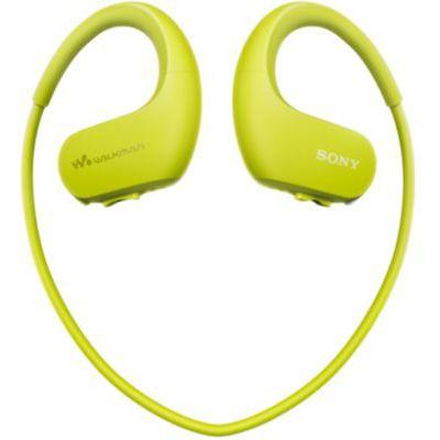 image Sony Walkman NW-WS413 - Lecteur MP3 Intégré à des Ecouteurs - Etanche - 4 Go - Citron vert
