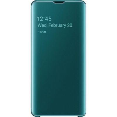image Samsung S10 Clear View Cover Green