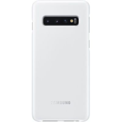 image Samsung Coque avec affichage LED pour Smartphone Galaxy S10 - Blanc