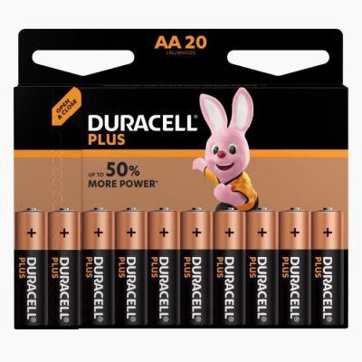 image Duracell Plus piles alcalines AA [Lot de 32], 1,5 Volts LR6 MN1500