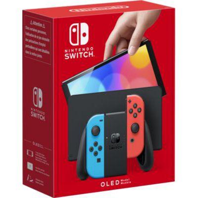 image Console Nintendo Switch (modèle OLED 2021) avec un Joy-Con Neon