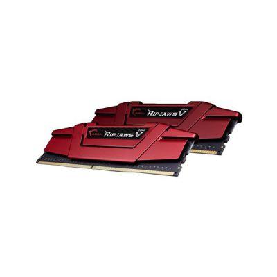 image DDR4 G.Skill Ripjaws V, Rouge, 2 x 16 Go, 2400 MHz, CAS 15