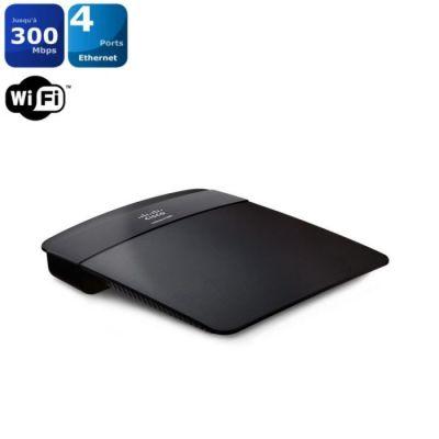 image Linksys E1200-EW Routeur WiFi N300 avec commutateur 4 ports Ethernet