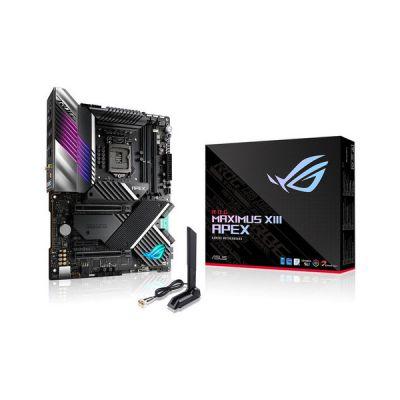 image ASUS ROG Maximus XIII Apex Carte mère gaming Intel Z590 LGA 1200 ATX (18 phases d'alimentation, PCIe 4.0, Intel WiFi 6E, Intel 2.5 Gb Ethernet, 4xM.2, OptiMem III, USB 3.2 Gen 2x2, Aura Sync RGB)