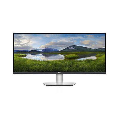 """image Dell S3422DW Écran de PC Gaming incurvé 34"""" Wide Quad HD LCD à rétroéclairage LED VA 100 Hz 4 ms AMD FreeSync Noir, Argent"""