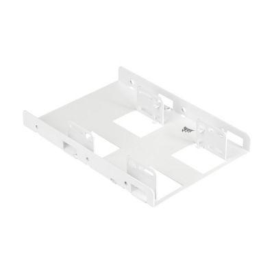image Support de Montage Corsair Dual SSD (Blanc)
