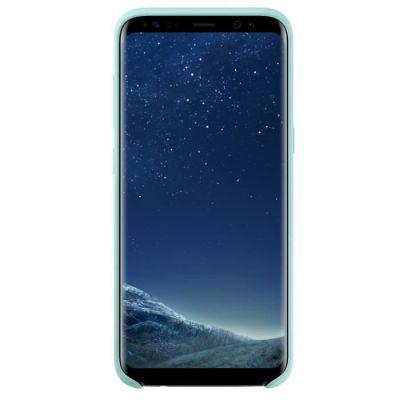 image Samsung Coque Silicone S8+ Bleu