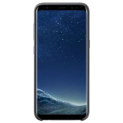 image Samsung Coque Silicone S8+ Noir