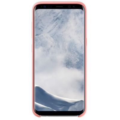 image Samsung Original Coque protection en Silicone pour Smartphone Galaxy S8 - Rose