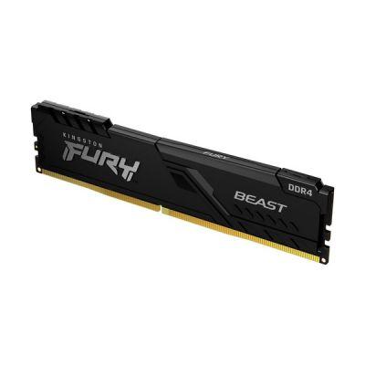 image Kingston FURY Beast 8GB 2666MHz DDR4 CL16 Mémoire Kit pour PC Module Simple KF426C16BB/8