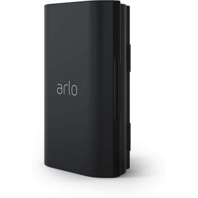 image Accessoire certifie Arlo| VMA2400 Batterie rechargeable, creee pour Arlo Essential sonnette video sans fils uniquement, Noire