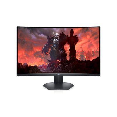 """image Dell S3222DGM Écran de PC Gaming incurvé 32"""" Wide Quad HD LCD à rétroéclairage LED VA 165 Hz 1 ms AMD FreeSync Premium Noir"""