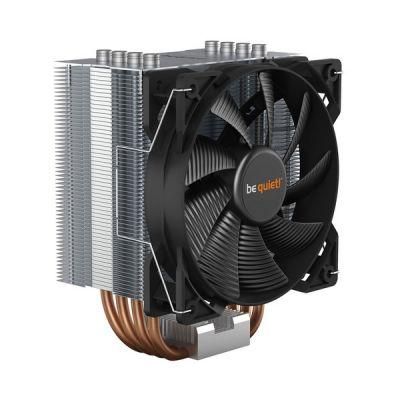 image be quiet! – Refroidisseur de processeur Pure Rock TDP 150W en aluminium brossé, technologie HDT