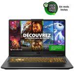 image produit PC Portable Gamer - ASUS F17-TUF766HE-HX025T - 17,3- FHD 144Hz - i7-11800H - RAM 16Go - SSD 512Go - RTX 3050Ti 4Go - Win 10 - AZERTY