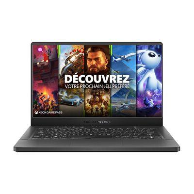image PC portable Asus ZEPHYRUS G14 GA401QM-235T