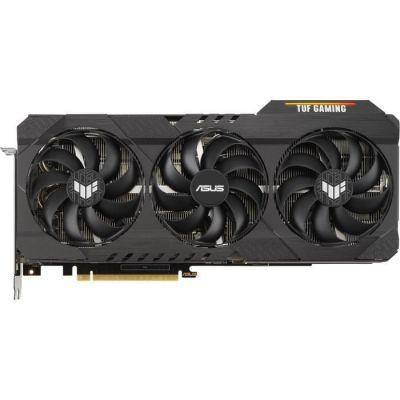 image ASUS TUF Gaming NVIDIA GeForce RTX 3080 Ti OC Edition – Carte Graphique gaming (PCIe 4.0, 12GB GDDR6X, HDMI 2.1, DisplayPort 1.4a, double roulement à billes, robustesse militaire, GPU Tweak II)