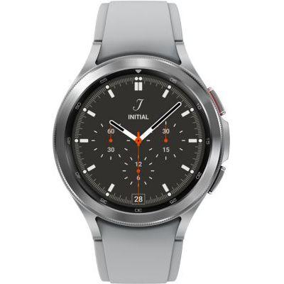 image Samsung Galaxy Watch4 Classic montre connectée intelligente, smartwatch, lunette tournante, suivi de la condition physique, santé, bien-être, sport, IMC, ECG, bluetooth, 46 mm, argent
