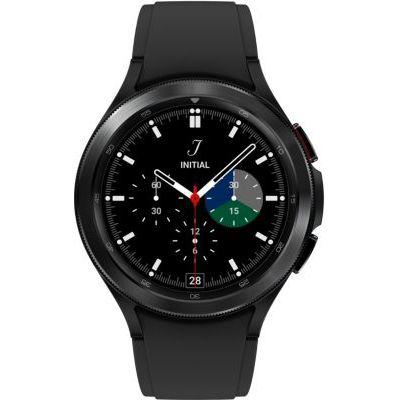 image Samsung Galaxy Watch4 Classic 4G montre connectée intelligente, smartwatch, lunette tournante, suivi de la condition physique, santé, bien-être, sport, IMC, ECG, 46 mm, noir