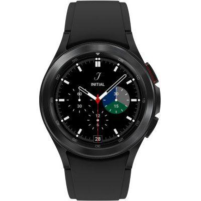 image Samsung Galaxy Watch4 Classic 4G montre connectée intelligente, smartwatch, lunette tournante, suivi de la condition physique, santé, bien-être, sport, IMC, ECG, 42 mm, noir