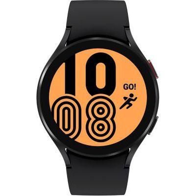 image Samsung Galaxy Watch4 montre connectée intelligente, smartwatch, surveillance de la santé, suivi de la condition physique, bien-être, sport, IMC, ECG, batterie longue durée, Bluetooth, 44 mm, noir