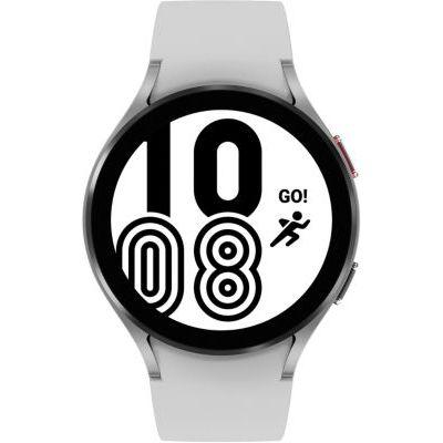 image Samsung Galaxy Watch4 montre connectée intelligente, smartwatch, surveillance de la santé, suivi de la condition physique, bien-être, sport, IMC, ECG, batterie longue durée, Bluetooth, 44 mm, gris