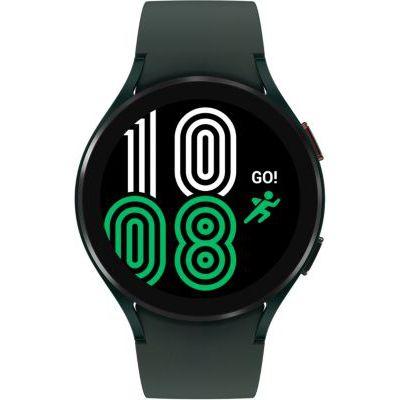 image Samsung Galaxy Watch4 montre connectée intelligente, smartwatch, surveillance de la santé, suivi de la condition physique, bien-être, sport, IMC, ECG, batterie longue durée, Bluetooth, 44 mm, vert