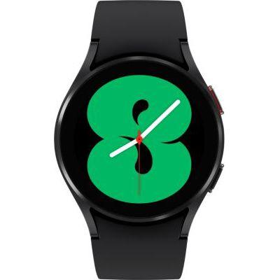 image Samsung Galaxy Watch4 montre connectée intelligente, smartwatch, surveillance de la santé, suivi de la condition physique, bien-être, sport, IMC, ECG, batterie longue durée, Bluetooth, 40 mm, noir
