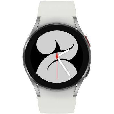 image Samsung Galaxy Watch4 montre connectée intelligente, smartwatch, surveillance de la santé, suivi de la condition physique, bien-être, sport, IMC, ECG, batterie longue durée, Bluetooth, 40 mm, gris