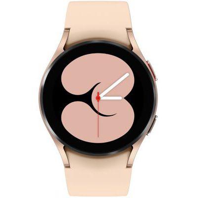 image Samsung Galaxy Watch4 montre connectée intelligente, smartwatch, surveillance de la santé, suivi de la condition physique, bien-être, sport, IMC, ECG, batterie longue durée, Bluetooth, 40 mm, or rose