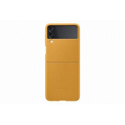 image Samsung Coque en Cuir Moutarde Galaxy Z Flip 3