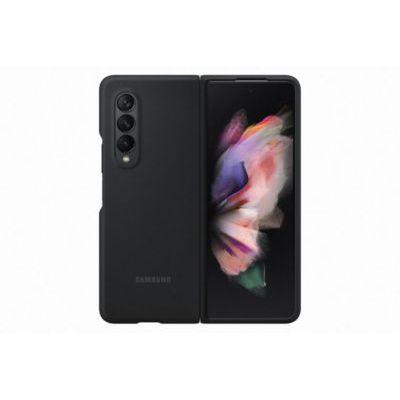 image Samsung Coque Silicone Noir Galaxy Z Fold 3
