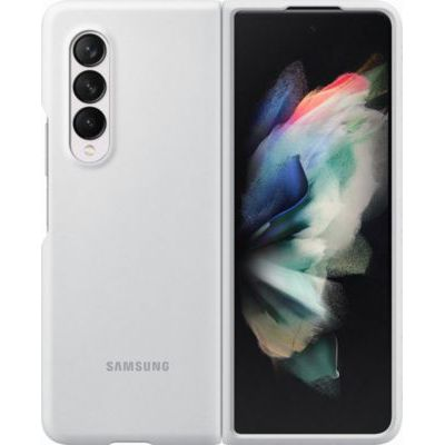 image Samsung Coque Silicone Blanc Galaxy Z Fold 3
