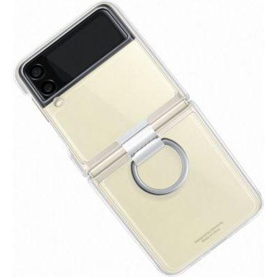 image Samsung Coque avec Anneau Transparent Galaxy Z Flip 3