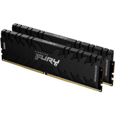 image Kingston FURY Renegade 16GB (2x8GB) 3600MHz DDR4 CL16 Mémoire Kit pour PC Kit de 2 KF436C16RBK2/16