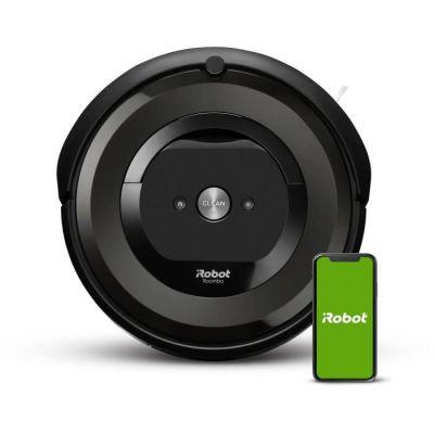 image iRobot Roomba e6192 - Aspirateur robot - Bac 0,45L - Batterie Lithium-iOn - 2 brosses multi-surfaces - iRobot Home
