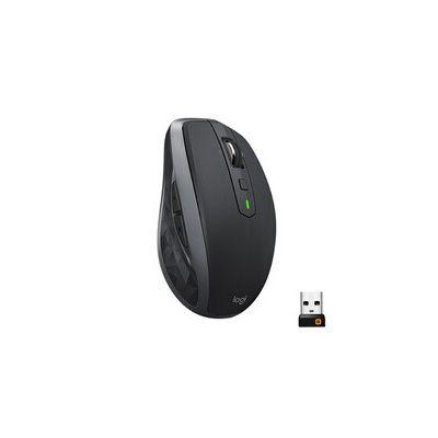 image Logitech MX Anywhere 2S Souris sans Fil, Multi-Dispositif, Bluetooth et 2,4 GHz avec récepteur USB Unifying, Suivi Laser sur Toute Surface 200 à 4000 PPP, 7 Boutons, Portable/PC/Mac/iPad OS - Grise