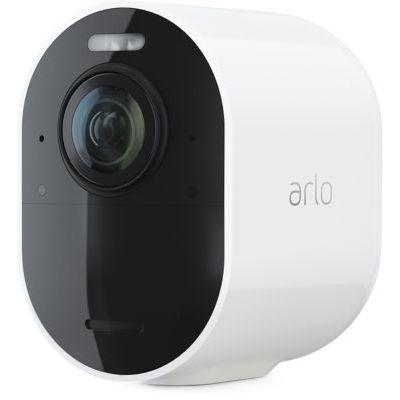 image Arlo Ultra 2 Spotlight camera de surveillance Wifi, Sans fil, vidéo 4K et HDR, Vision nocturne, audio bidirectionnel, détection de mouvement, champ de vision à 180°, SmartHub requis, VMC5040