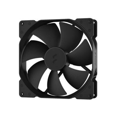 image Fractal Design Dynamic X2 PWM GP-18 180 mm High Durability LLS Bearing Black Edition Radiator Optimized Computer Case Fan