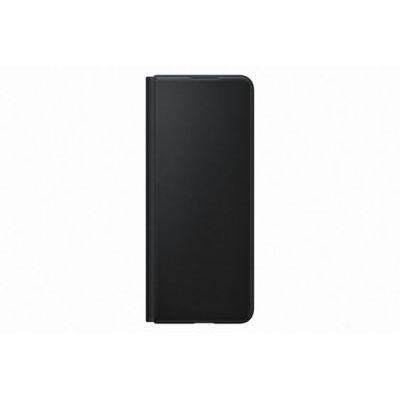 image Samsung Etui en Cuir avec Rabat Noir Galaxy Z Fold 3