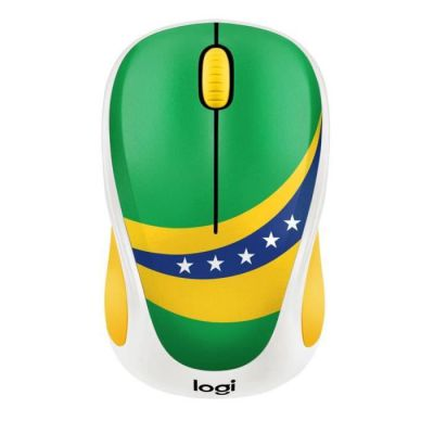 image Logitech M238 Souris sans fil Fan Collection Brésil