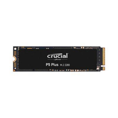image Crucial CT500P5PSSD8 SSD Interne P5 Plus 500Go (PCIe 4.0, 3D NAND, NVMe, M.2) jusqu'à 6600Mo/s