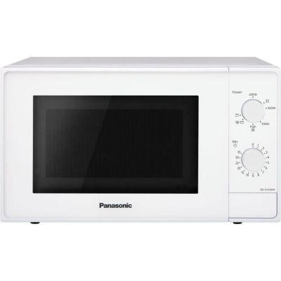 image Panasonic NN-K10JWMEPG | Four Micro-ondes Gril 2 en 1 , 20 L, Puissance Micro onde 800 W, Gril Quartz 1100 W, Plateau tournant 255 cm, Blanc , – Version Française
