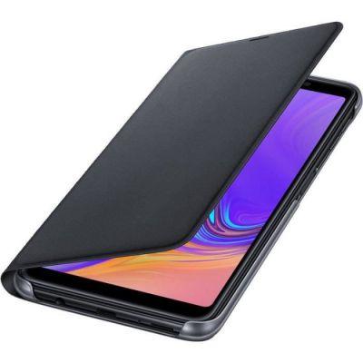 image Samsung Etui à Rabat pour Galaxy A7 2018 Noir EF-WA750PBEGWW