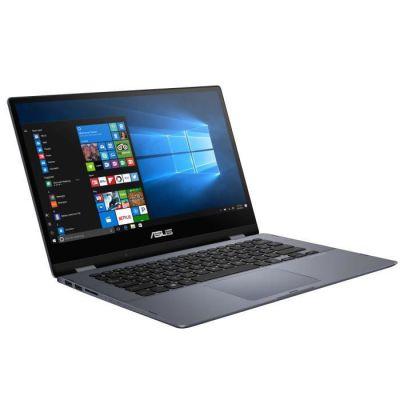image PC Portable ASUS Vivobook Flip TP412FA-EC451T - 14- FHD Tactile - Intel Core i3-10110U - RAM 8Go - SSD 256Go - Windows 10 S - AZERTY