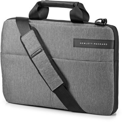 """image HP Signature Slim Sacoche pour Ordinateur Portable jusqu'à 14"""" (27 x 41 x 3 cm) - Grise"""
