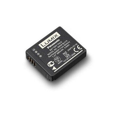 image Panasonic Lumix DMW-BLH7E Batterie rechargeable, 7.2V, 680mAh, 4.9Wh pour Lumix LX15, GM5, GF10, GF9, GF8, GF7 - Noir