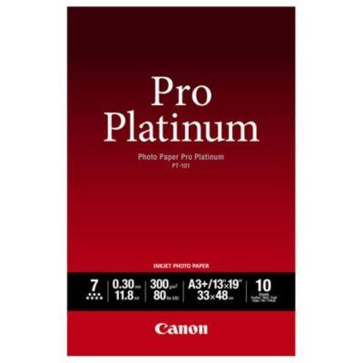 image Canon PT-101 Papier Photo Pro Platinum Format A3+ (10 feuilles)