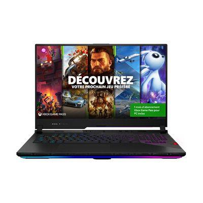 image PC portable Asus ROG SCAR17-G733QS-HG082T