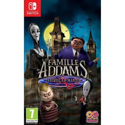 image Jeu La Famille Addams : Panique au Manoir sur Nintendo Switch